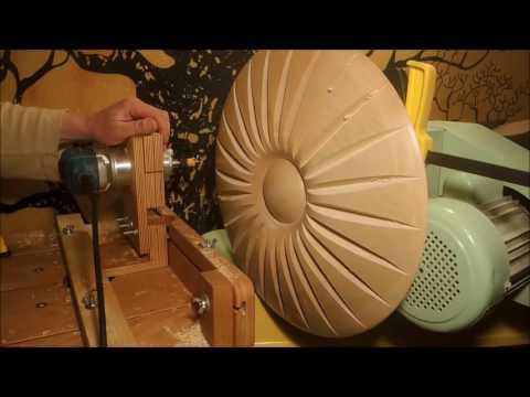 Tokar Art 70 Woodturning Sun Disc & Cosmic Eye