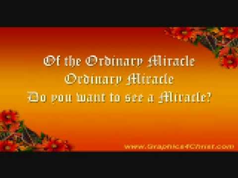 Ordinary Miracle - Sarah McLachlan - Lyrics