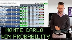 Sports Betting Analytics - Using a Monte Carlo Simulation to Project In-Game Win Probability