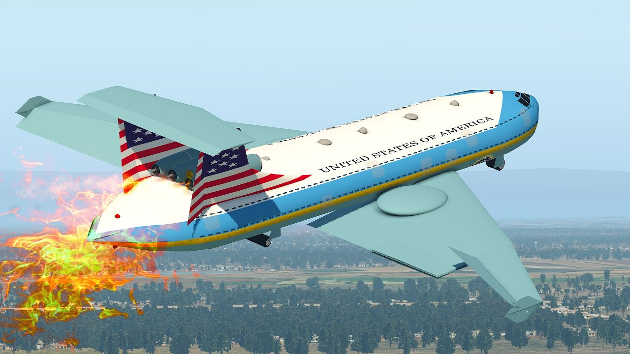Download President Biden's Air Force One Pilot Got Fired After This Emergency Landing   XP11