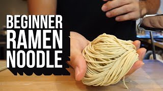 Beginner Guide to Making Ramen Noodles from Scratch