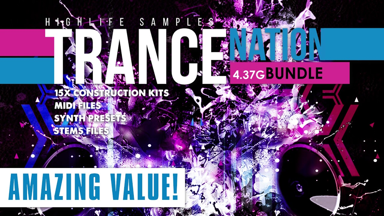 Trance Samples - Trance Nation Bundle