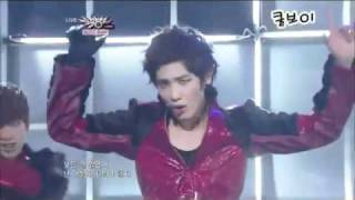 [live perf] MBLAQ - Stay (14.1.11) comeback stage!.flv
