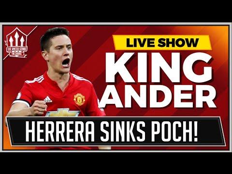 Manchester United 2-1 Tottenham   SANCHEZ and HERRERA Goals Win It!