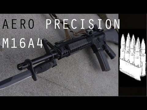 Aero Precision M16A4 impressions and setup