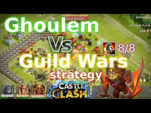 Castle Clash Ghoulem Guild Wars Strategy