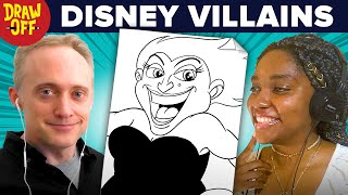 Animator Vs. Cartoonist Draw Disney Villains From Memory • Draw-Off