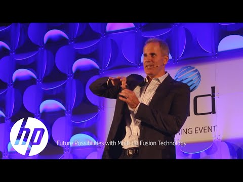 HP Jet Fusion 3D Printing Solution | Rapid 2016 | HP
