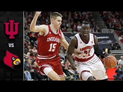 Indiana vs. Louisville Basketball Highlights (2017-18)