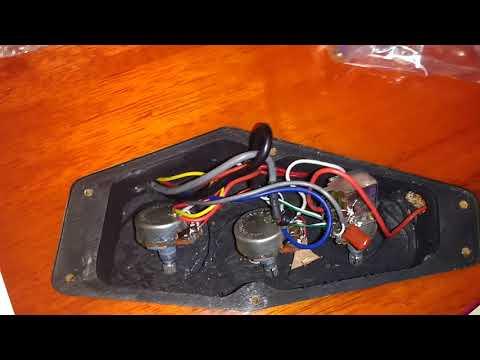 LTD EC-256 electronics (pots, capacitor) values - YouTubeYouTube