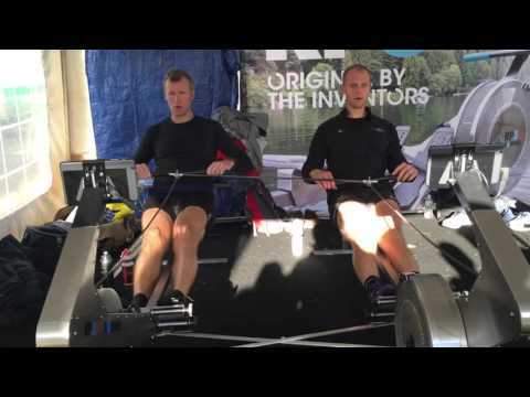 Mahe Drysdale connected as a 2x with RP3 rowing October 2015