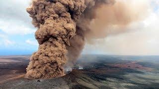Ready to Explode? Hawaii's Volcano Spews Colossal Rock & Lava