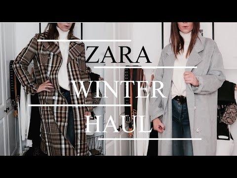 HUGE Zara Winter Try On Haul   2018
