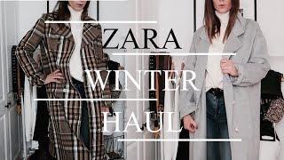 HUGE Zara Winter Try On Haul | 2018