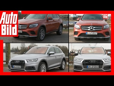 Vergleich: Audi Q5 gegen Mercedes-Benz GLC (2017)