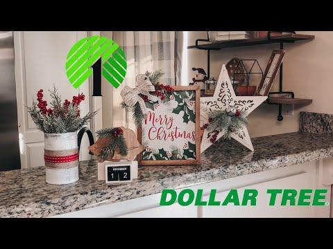 Dollar Tree Christmas DIY 2019   Christmas Farmhouse Home Decor