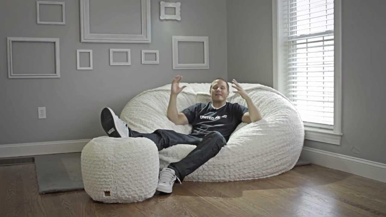 الملفوف الصيني الانطباع نسب huge bean bag chair lovesac
