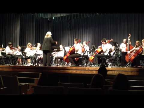 Graycie's last orchestra concert at Taylorview middle school