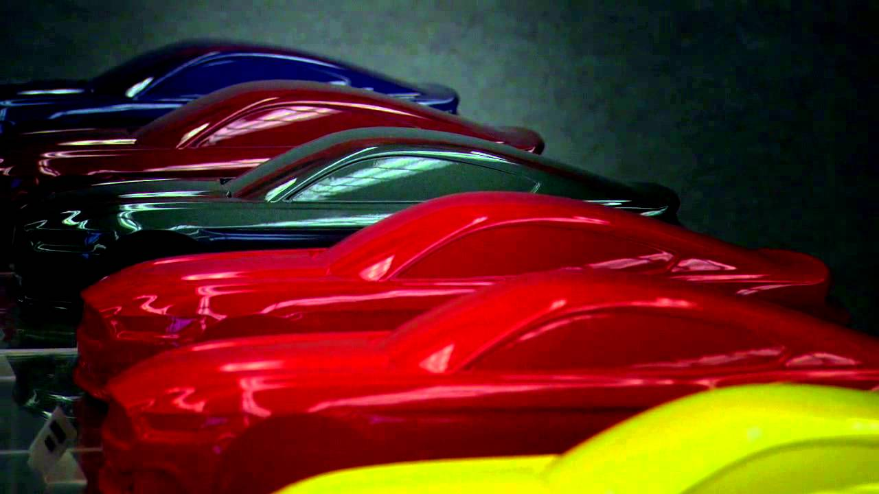 2015 ford mustang color material overview youtube
