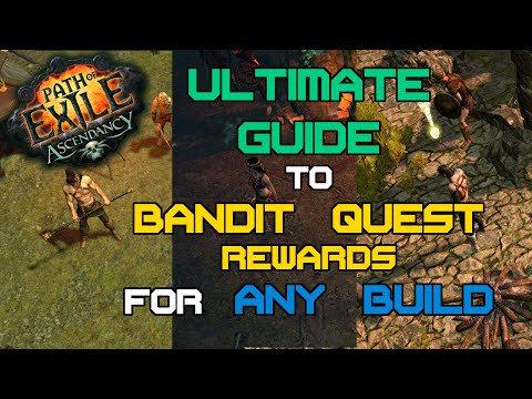 Path of Exile - Which Bandit Quest Reward to take? - The Ultimate Guide to choosing bandits!