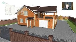 видео 70 авторских проектов домов с мансардой. Рациональные и стильные