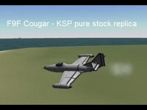 """F9F """"Cougar""""- KSP Pure Stock Replica"""