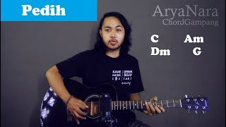 Chord Gampang (Pedih - Last Child) by Arya Nara (Tutorial Gitar) Untuk Pemula