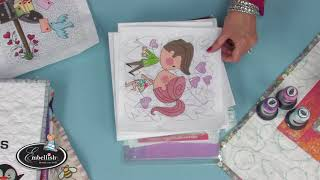Embroidering With Iridescent Embroidery Mylar