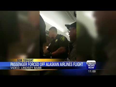 Aviation Blog - Jay Ratliff - Passenger Forcibly Removed From Flight