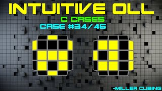 Intuitive Full OLL: C Cases