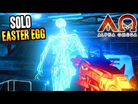 """ALPHA OMEGA"" SOLO OSTEREI BEENDEN SIE DAS SPIEL! (Black Ops 4 Zombies DLC 3) + video"