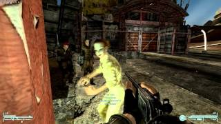 Fallout New Vegas Drunk Lady