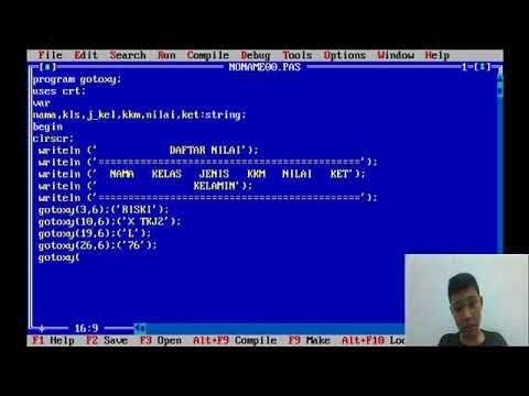 Cara Menggunakan Gotoxy Pada C++