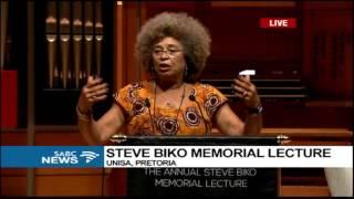 Angela Davis delivers the 17th Steve Biko Memorial Lecture