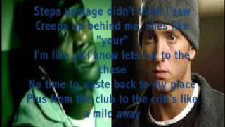 Eminem Ft Akon Smack That ( Lyrics )