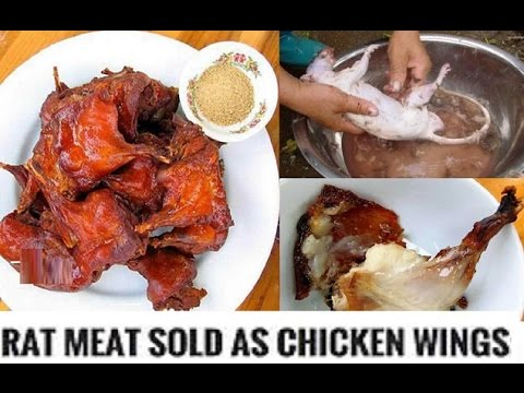 "Rat Meat Being Sold In America as ""Boneless Chicken Wings"