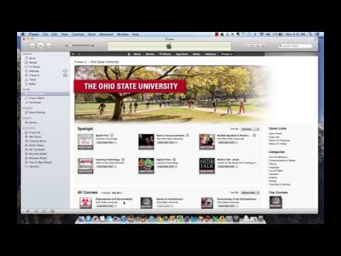 How To Access ITunes U On A Computer