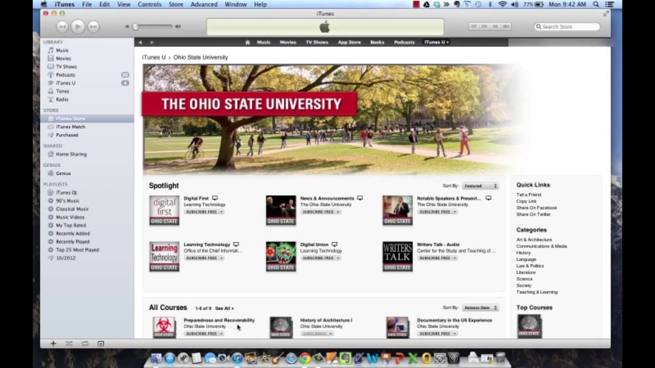 Download iTunes U for PC Archives