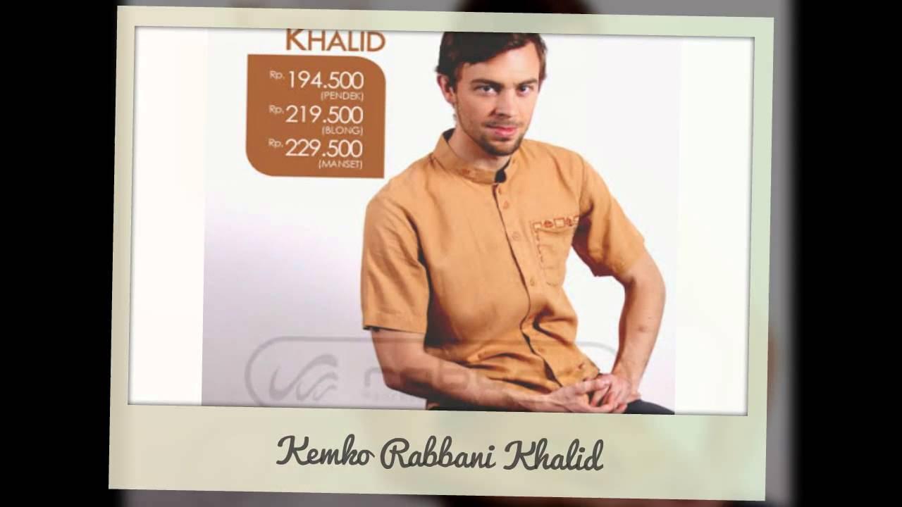 Baju Koko Kemeja Kemko Rabbani Khalid Murah Online - YouTube