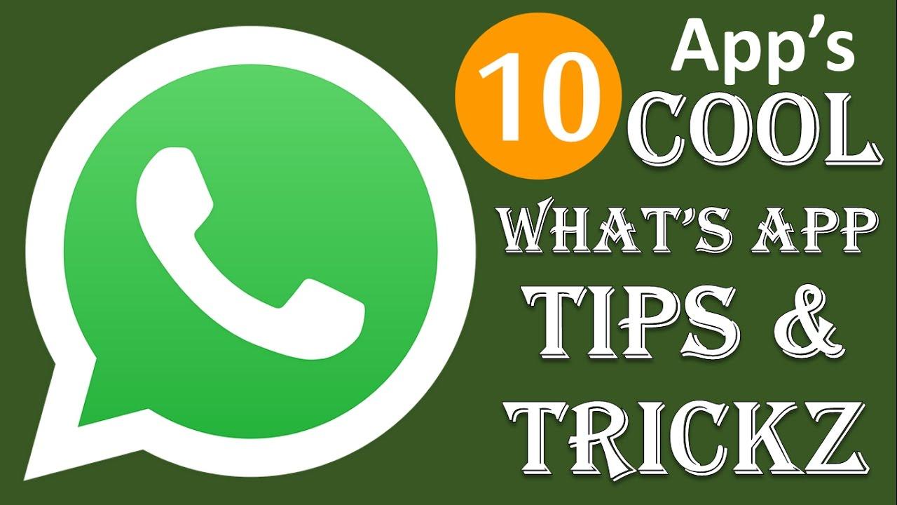 {HINDI} 10 whatsapp tricks everyone should know || 10 whatsapp hidden tricks || tips for whatsapp ✔