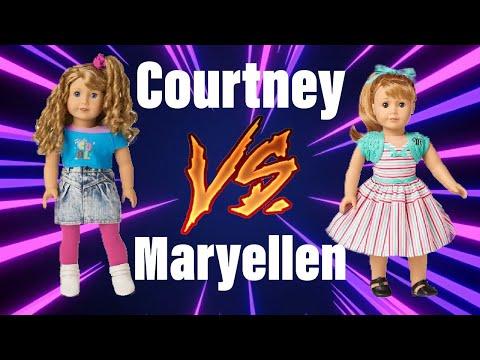 Courtney VS Maryellen ~American Girl Doll Comparison
