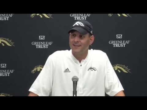 WMU Football Post Game Presser - Delaware State