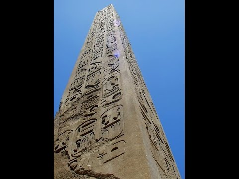 Were Egypt's Obelisks Ancient Resonance Structures?