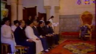 feu hassan 2 le sahara marocain