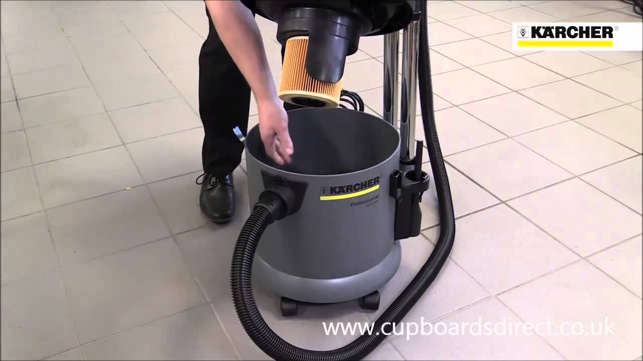 Karcher Nt 27  1 Wet And Dry Vacuum Cleaner