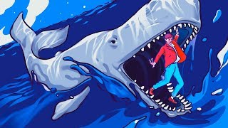 A Legendary Man Survived in a Whale