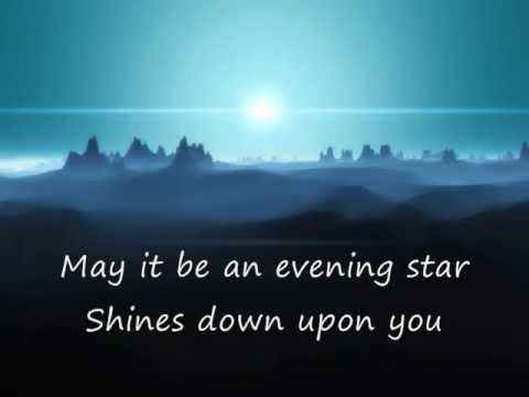 ♫  Enya - May it be ( lyrics ) ♫
