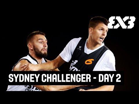 LIVE 🔴 - FIBA 3x3 Sydney Challenger 2018 - Day 2 - Sydney, Australia