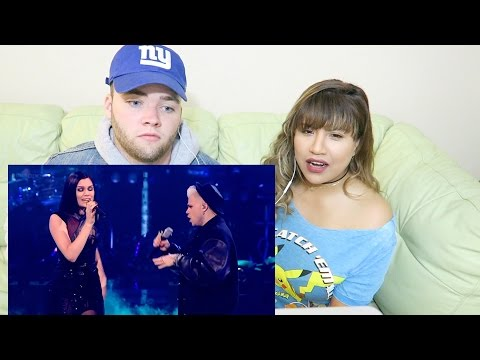 JESSIE J & VINCE DUET 'Nobody's Perfect' THE VOICE UK REACTION!!