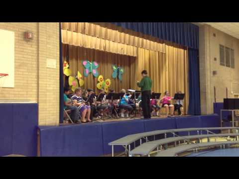 May 23rd 2013 - Spring Concert - Band - Waddell Elementary School, Manchester, CT